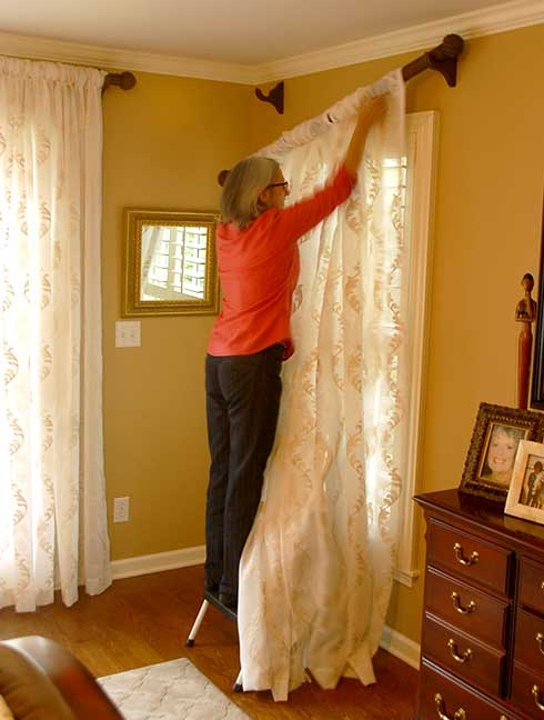 drapes curtains dry cleaning